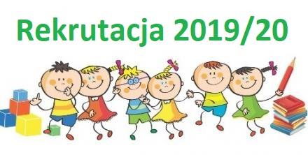 Rekrutacja narok szkolny 2019/2020